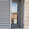 Reparación de ventana de seguridad metálica