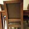 Tapizado de 6 sillas y 1 silon de  oficina