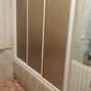 Reforma en cuarto de baño, cambiar bañera por plato de ducha con fontaneria y alicatado corrrespondiente