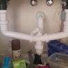 Desatascar tuberia de la pila de la cocina