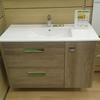 Mampara y mueble cuarto de baño