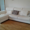 Tapizar un sofá  con chaiselongue de polipiel