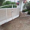 Instalacion puerta corredera motorizada más puerta peatonal con videoportero o timbre