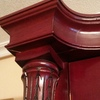 Restaurar mueble macizo color caoba