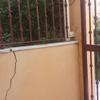 Reparar columna, grieta muro y baldosas del suelo