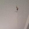 Sanear parte del techo de una habitación (picar, yesar y pintar)