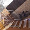 Instalación escalera metálica de exterior