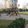 Suelo de goma para parque infantil