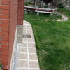 Escalera exterior metálica acceso a terraza gorliz