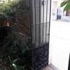 Cambiar puertas jardin exterior de hierro forja antiguas
