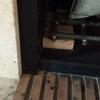 Poner puerta a chimenea