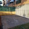 Instalación toldo 6.80 x 5 m tipo palilleria en pstio de vivienda
