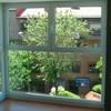 Convertir puerta halconera en ventanas con cristal fijo inferior