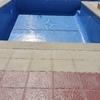 hacer la lechada de la piscina que mide 8.5 por 4.5