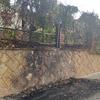 Reconstruccion de muro y valla