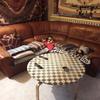 Arreglar sofa solo parte de asientos meter espuma y algunas rajas