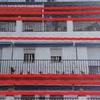 Reparación fachada de un piso en bloque