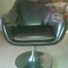 Tapizado de dos sillas de despacho en alcora- castellón