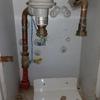 Pequeña instalacion tubo de gas