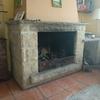 Insertable chimenea para calefacción de vivienda