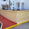Cerramiento muro jardín