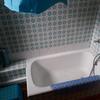 Reforma baño palma, cambio de bañera por plato, con mampara y cambio de grifería