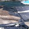 Solar parte del jardin para playa piscina