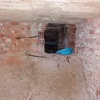 Saneamiento cámara de aire bajo edificio