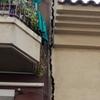 Tapar grieta entre dos edificios e instalar testigos