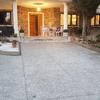Colocar bordillo tipo palterre de forma simétrica en ambos lados de la entrada de la casa