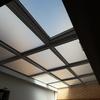 Limpieza techo cristal