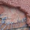 Reparar muro de jardin con material monocapa