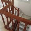Barandilla escalera de acero inoxidable por sustitución de la existente de madera