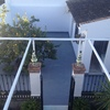 Rebaje, hormigonado y colocación de suelo de un patio