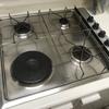 Cambio calentador de agua y placa de fuegos gas natural