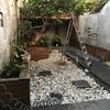 Hormigón impreso patio