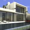 Construcion casa planta baja diseño en urbanizacion campo golf