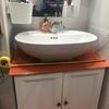 Cambiar lavabo y cristal del mueble en zaragoza