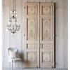 Puerta decorativa blanco madera o marfil o parecido