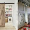 Puerta de madera para bodega interior