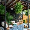 Fabricar e instalar pergola en jardin estructura metalica y toldos tecgo plegables