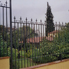 Cerrar jardín con vallas de forja en la rioja
