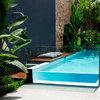 Construccion piscina vidrio
