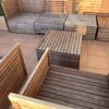 Lijar y pintar muebles madera de exterior