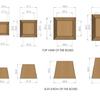 Plyo box de 15, 30, 45 y 60cm