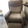 Limpieza dos sillones tapizados
