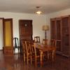 Cambiar 2 puertas huecas  madera de sapeli con una moldura superpuesta alredeor sin cristal