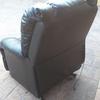 Tapizado de sillón de masaje en tela estampada