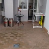 Instalacion suelo en patio exterior
