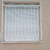 Rejas metalicas por una ventana